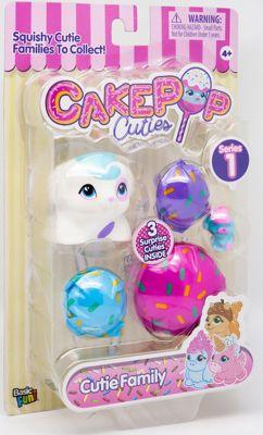"""Набор игрушек-антистресс Cake Pop Cuties """"Families"""", 1 серия"""