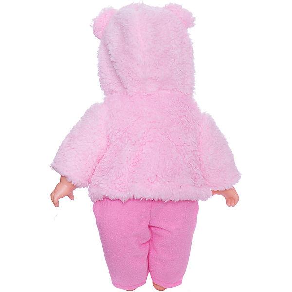 Кукла ABtoys Baby boutique, 33 см, в розовом костюмчике