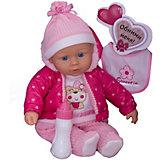 Кукла ABtoys Baby boutique, 40 см, с бутылочкой