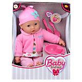Кукла ABtoys Baby boutique, 40 см, с посудой