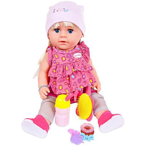 """Интерактивная кукла ABtoys """"Baby Boutique"""" пьёт и писает, 45 см с аксессуарами от ABtoys"""