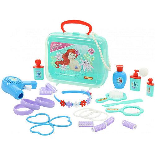 """Набор в чемоданчике Disney """"Ариэль"""" - """"Cтань принцессой!"""" , 26 предметов от Полесье"""