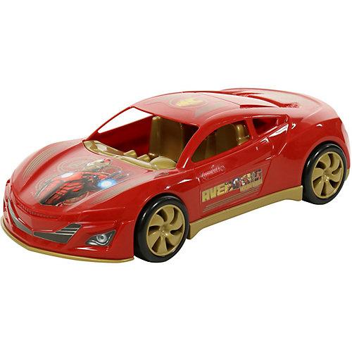 """Автомобиль Marvel """"Мстители. Железный Человек"""", красный от Полесье"""