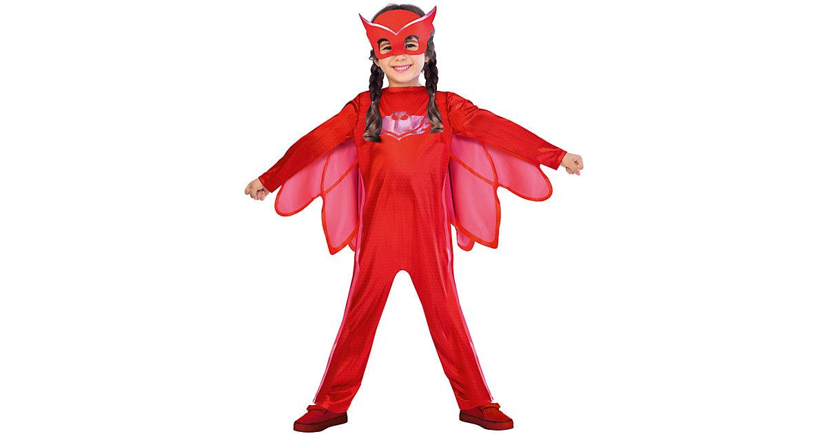 Kinderkostüm PJ Masks Eulette (Good) Gr. 110/116 Mädchen Kinder