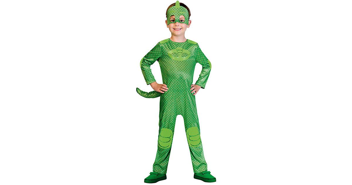 Kinderkostüm PJ Masks Gecko (Good) Gr. 98/104 Jungen Kleinkinder
