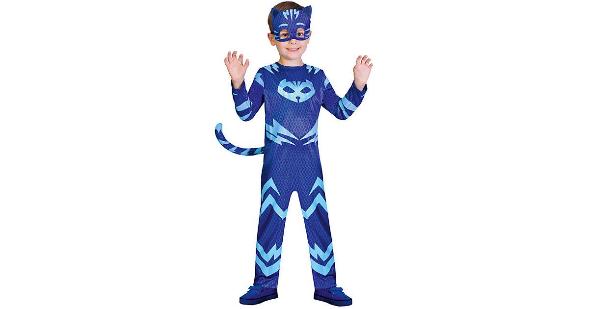 Kinderkostüm PJ Masks Catboy (Good) blau Gr. 98/104 Jungen Kleinkinder