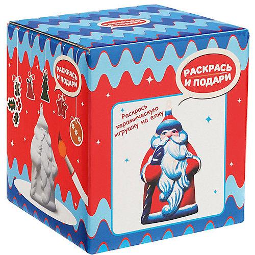 """Фигура для раскрашивания Раскрась и подари """"Дед Мороз"""" от Бумбарам"""
