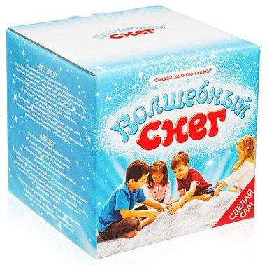 Набор для опытов Волшебный снег, Детский набор