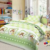 Детское постельное белье 3 предмета Letto, простыня на резинке, BGR-84