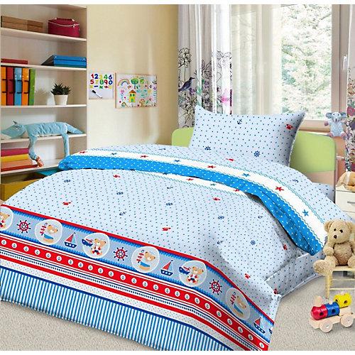 Детское постельное белье 3 предмета Letto, простыня на резинке, BGR-102 от Letto