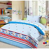 Детское постельное белье 3 предмета Letto, простыня на резинке, BGR-102