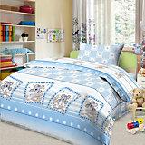 Детское постельное белье 3 предмета Letto, простыня на резинке, BGR-83