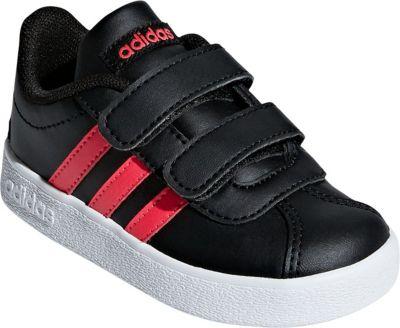 Baby Sneakers VL COURT 2.0 CMF I für Mädchen, adidas Performance
