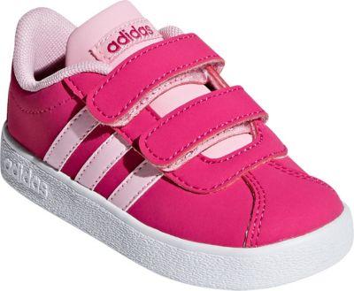 Baby Sneakers VL COURT 2.0 CMF I für Mädchen, adidas Sport Inspired
