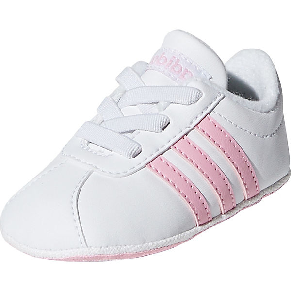 zapatos elegantes tienda del reino unido imágenes detalladas Krabbelschuhe VL COURT 2.0 CRIB für Mädchen, adidas Sport Inspired ...