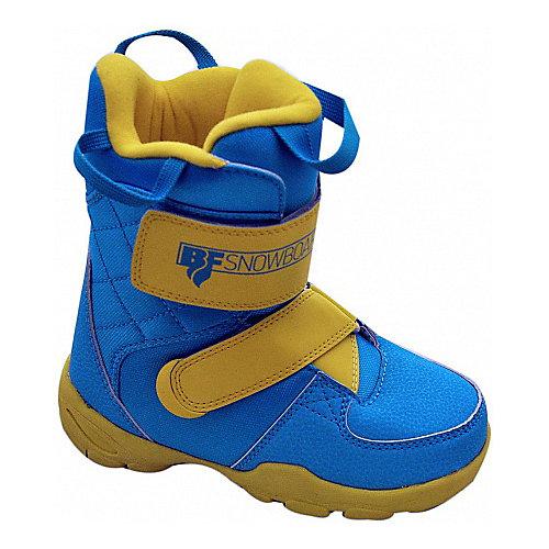 "Ботинки для сноуборда BF snowboards ""Little Rider"" - черный от BF snowboards"