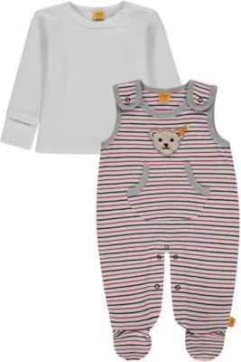 Steiff Baby Jungen Strampler-Set