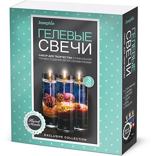 Набор для создания гелевых свечей Josephin с ракушками, набор № 2 от Josephine