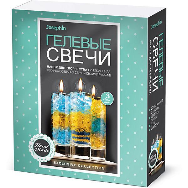 Набор для создания гелевых свечей Josephin, набор № 1