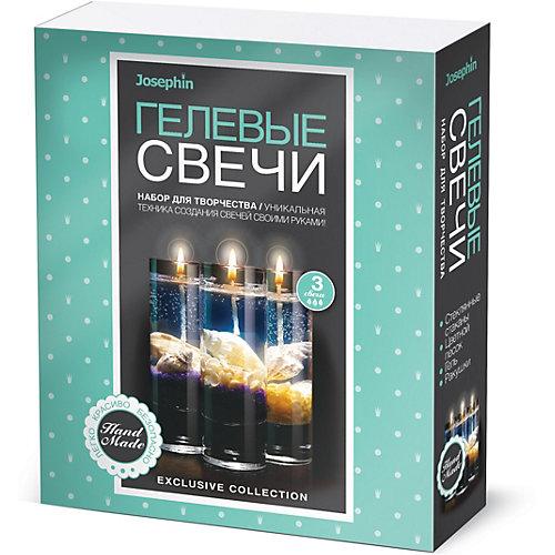 Набор для создания гелевых свечей Josephin с ракушками, набор № 5 от Josephine