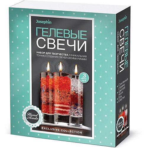 Набор для создания гелевых свечей Josephin, набор № 4 от Josephine