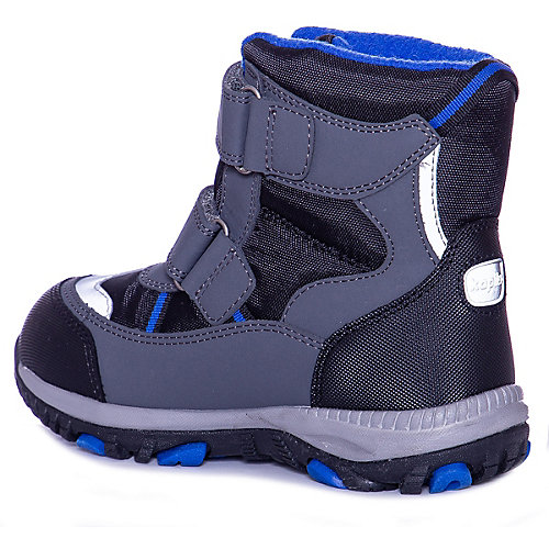 Утепленные ботинки Kapika - серый от Kapika