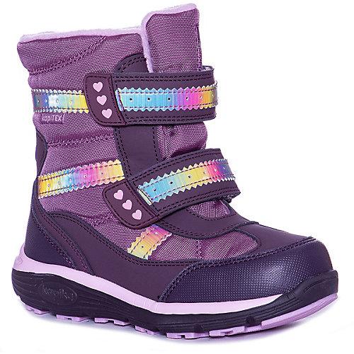 Утепленные ботинки Kapika - фиолетовый от Kapika