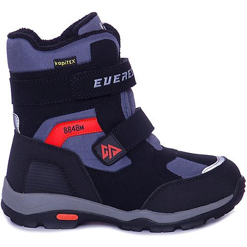 Утепленные ботинки Kapika - черный/серый от Kapika