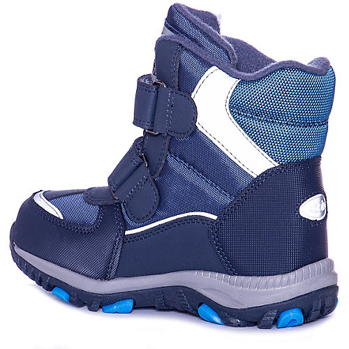 Утепленные ботинки Kapika - темно-синий от Kapika