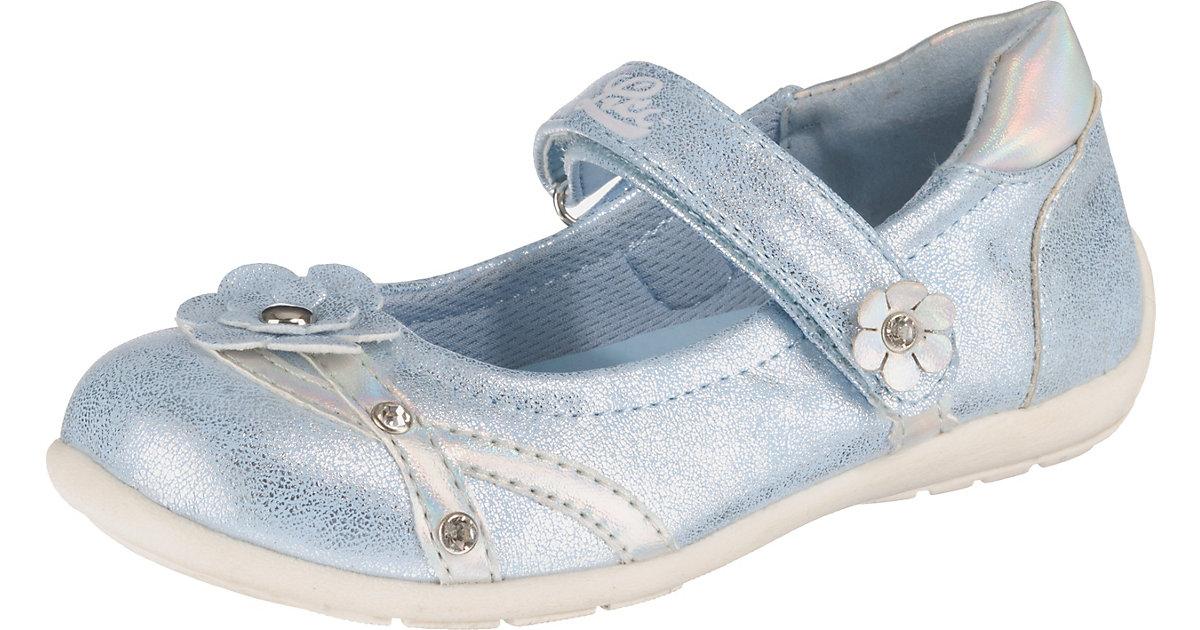 Ballerinas Mona V  hellblau Gr. 25 Mädchen Kleinkinder