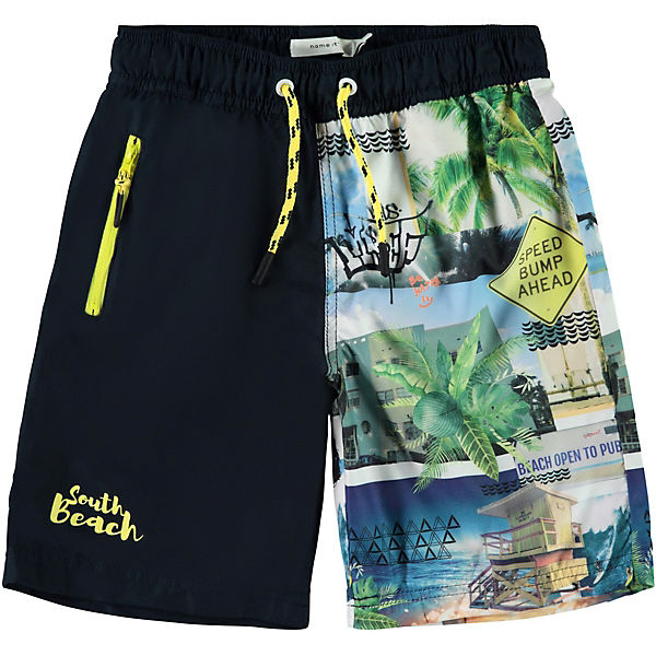 Kinder Badeshorts NKMZETH