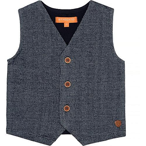 STACCATO Baby Jeansweste Gr. 86 Jungen Kleinkinder | 04061708201003