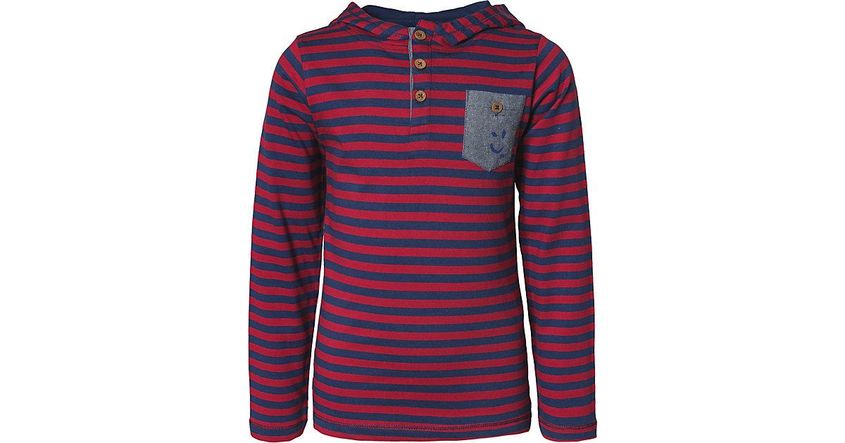 STACCATO · Langarmshirt mit Kapuze Gr. 116/122 Jungen Kinder