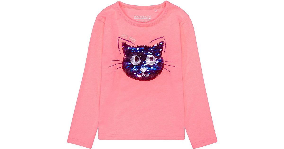 STACCATO · Langarmshirt , Katze Gr. 128/134 Mädchen Kinder