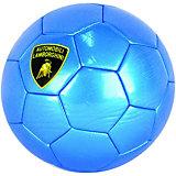 Футбольный мяч Lamborghini, 22 см, синий