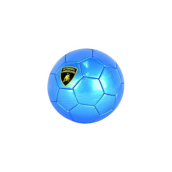 Футбольный мяч Lamborghini 22 см, синий