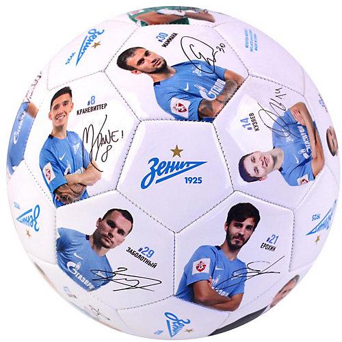 """Футбольный мяч """"Зенит"""" размер 5, белый от Зенит"""