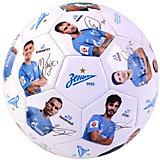 """Футбольный мяч """"Зенит"""" размер 5, белый"""