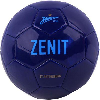 """Мяч футбольный """"Зенит"""" размер 5, синий"""