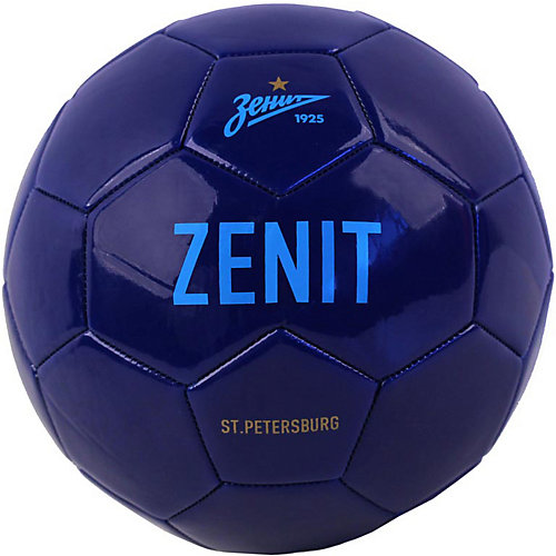 """Футбольный мяч """"Зенит"""" размер 5, синий от Зенит"""