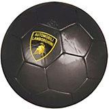 Футбольный мяч Lamborghini, 22 см, чёрный