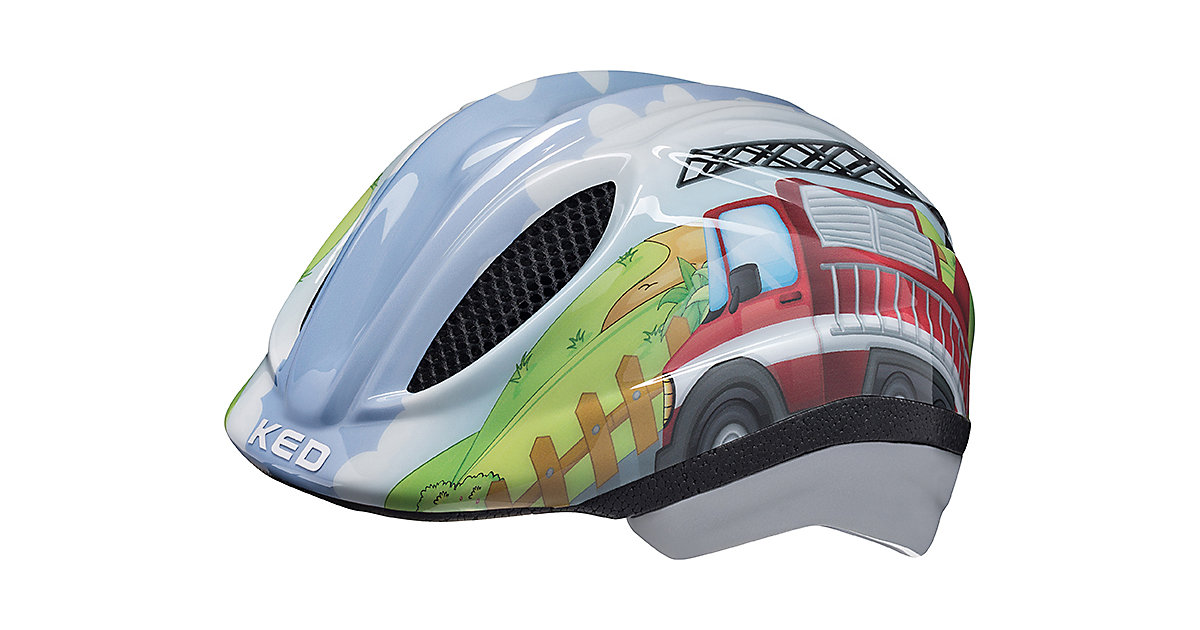 Fahrradhelm Meggy Trend  Feuerwehr mehrfarbig Gr. 44-49