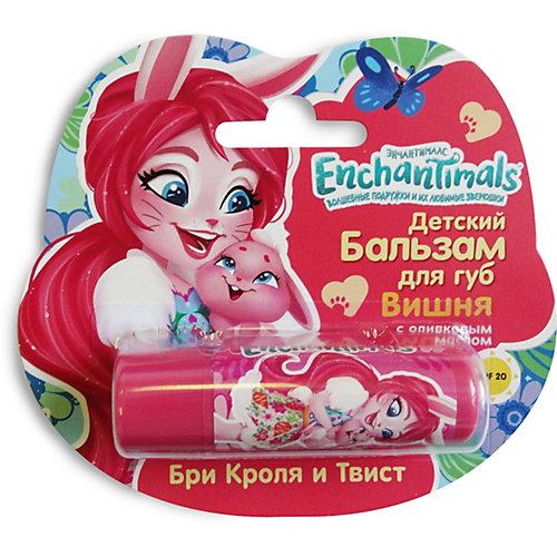 """Детский бальзам для губ Enchantimals """"Вишня"""" с оливковым маслом от Markwins"""