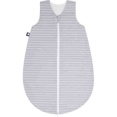 Sommer- Schlafsack Jersey, Grey Stripes