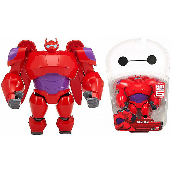 "Фигурка Bandai ""Big Hero 6"", Бэймакс, красный, 12 см"