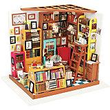 Сборная модель-румбокс  Книжный магазинчик