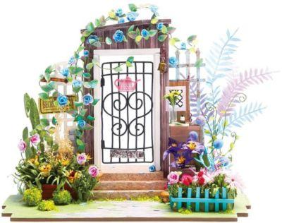 """Сборная модель-румбокс Diy House """"Цветочный сад"""""""