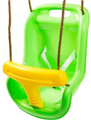 Качели 2 в1 Kett-Up, зелёно-жёлтые
