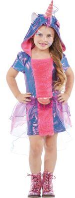Kostüm Einhorn pink-kombi Gr. 116 Mädchen Kinder