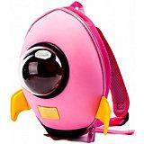 """Детский рюкзак Bradex """"Ракета"""", розовый"""